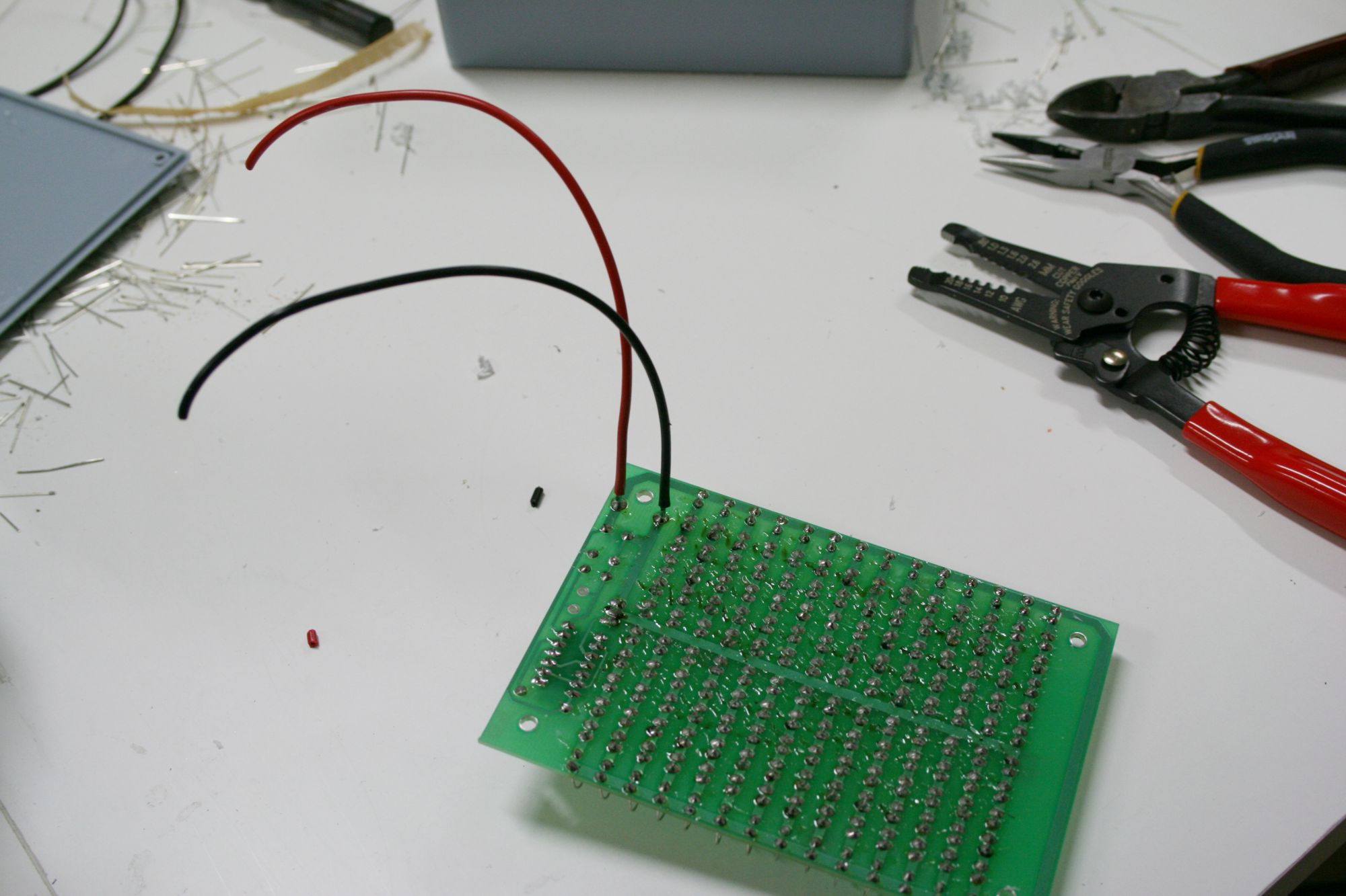 How to assemble your own 140 LED Infrared Light Source (part 2)
