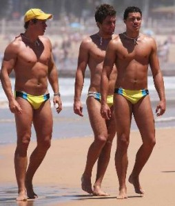 http://famewatcher.com/wp-content/uploads/2010/06/dolce-sportswearbeach-bums-in-yellow-speedo-aussie-hunks-lifeguards.jpg
